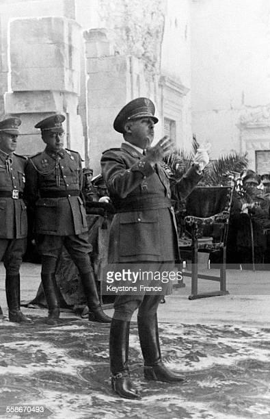 Discours de Francisco Franco prononcé à Tolède Espagne le 5 novembre 1945