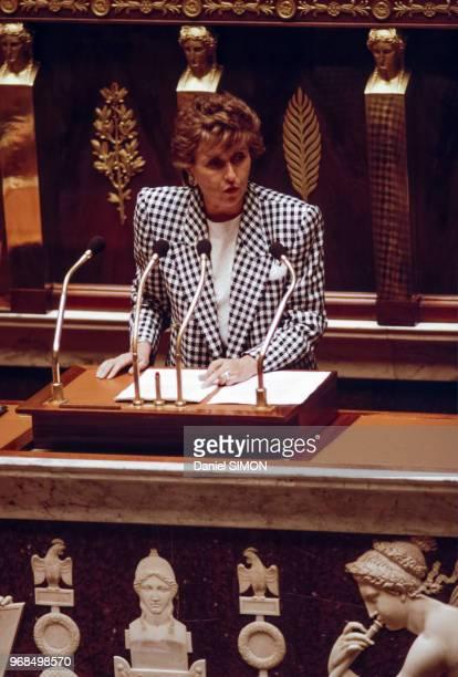 Discours d'Edith Cresson Premier ministre devant les députés le 22 mai 1991 France