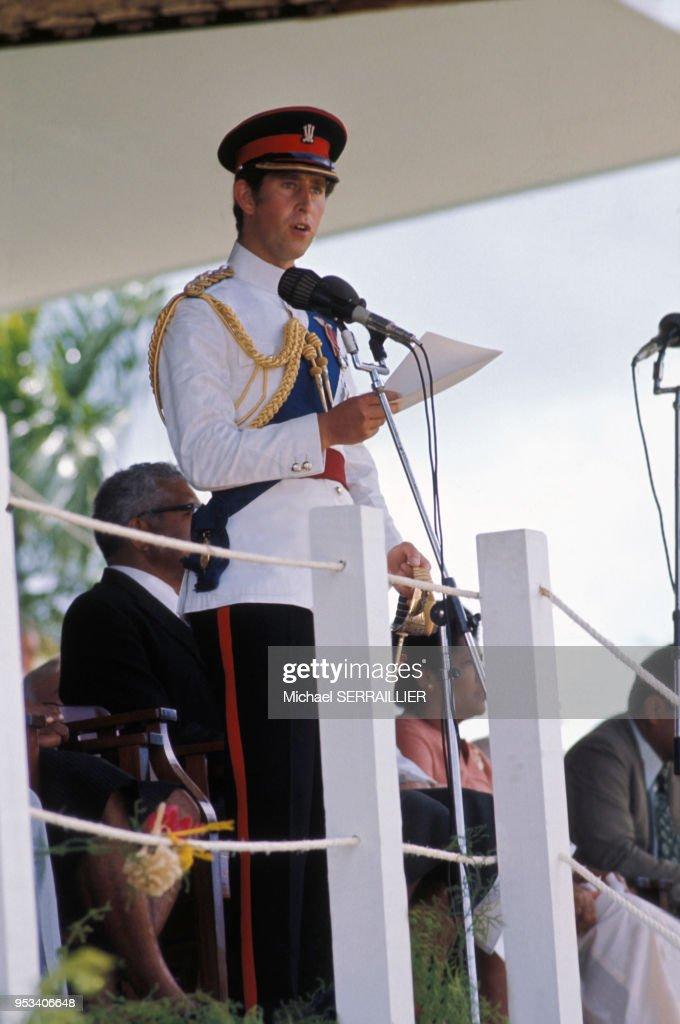 Visite officielle du Prince Charles aux Fidji : News Photo