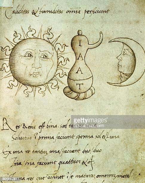 Discourses of alchemy the sun and the moon creators of all things Italy 15th century Padova Biblioteca Universitaria