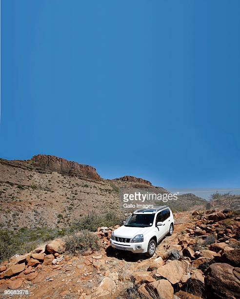 Discover a treasure trove in the Great Karoo The Karoo National Park proclaimed in 1979 this park is like a giant outdoor museum A vehicle seen on...
