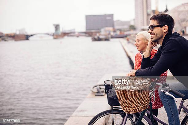 Discover city on a bicycle
