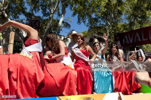 Discovering Argentina - 2012 Contestants for Queen of Vendimia harvest festival, Mendoza