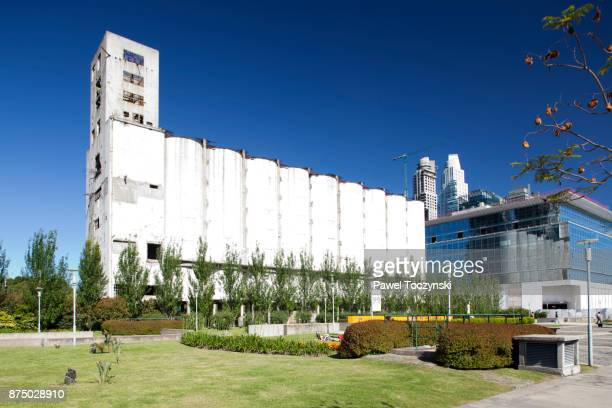 Discovering Argentina - old granary in Puerto Madero district of Buenos Aires