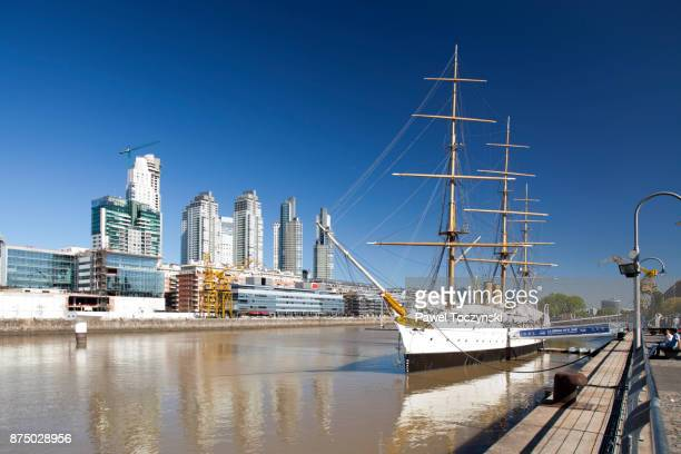 Discovering Argentina - Puerto Madero, modern port district of Buenos Aires, Argentina
