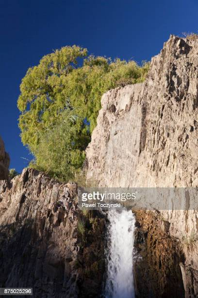 Discovering Argentina - Waterfall in El Leoncito National Park, Argentina