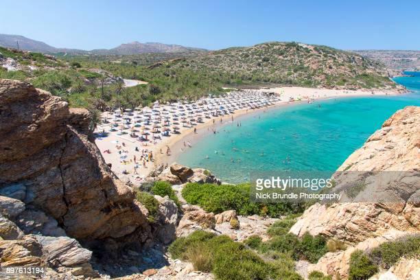 discovering greece - creta fotografías e imágenes de stock