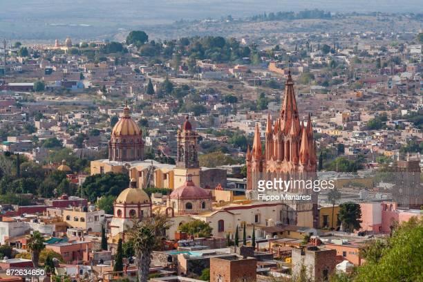 discovering mexico - san miguel de allende fotografías e imágenes de stock