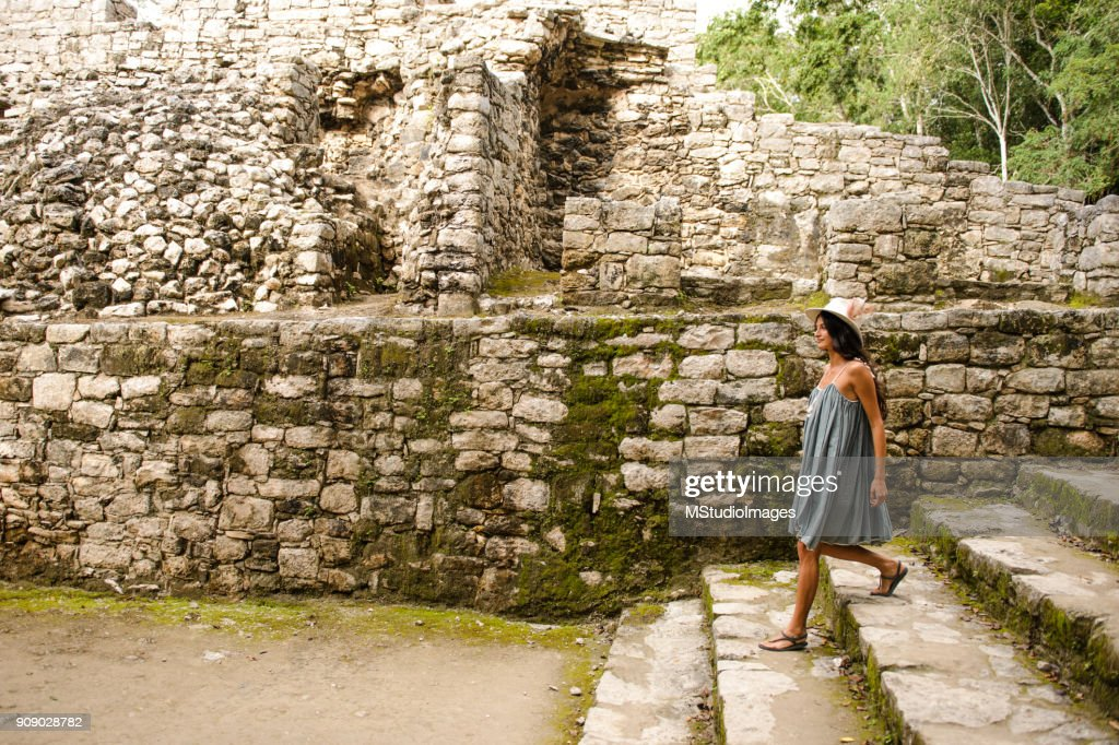 Discovering Mexico. : Stock Photo