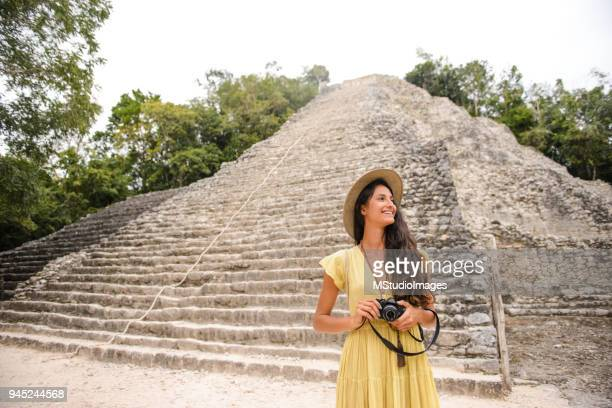 discovering mexico. - mexico stock pictures, royalty-free photos & images
