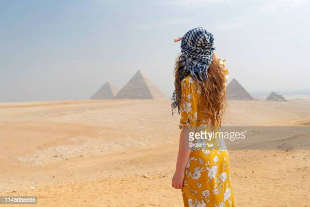discovering more of the world - pyramid stock pictures, royalty-free photos & images
