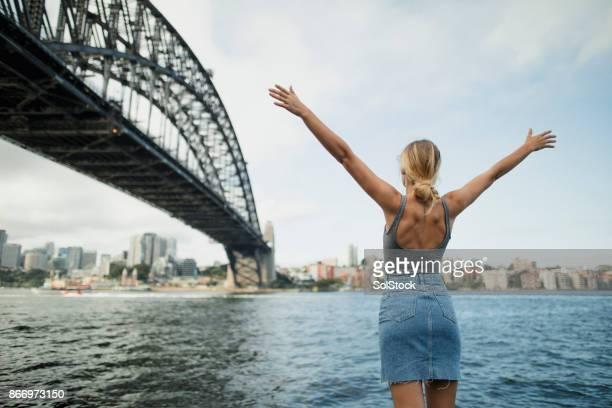 découvrir sydney - jupe photos et images de collection