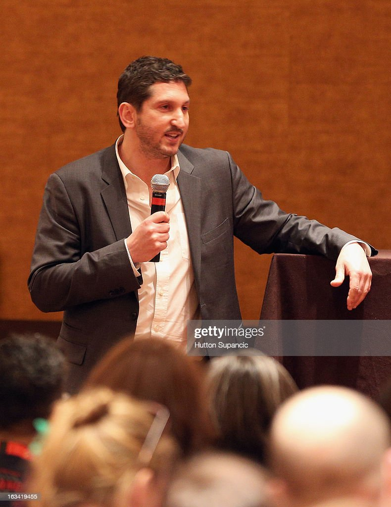 Discovery Channel's David Pritikin speaks onstage at Deadliest Catch's Twitter For Tough Guys during the 2013 SXSW Music, Film + Interactive Festival at Hyatt Regency Austin on March 9, 2013 in Austin, Texas.