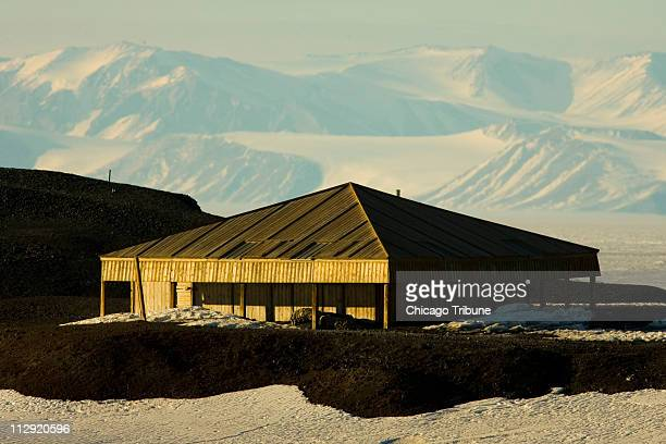 Discovery Hut, built by Antarctic explorer Robert Falcon Scott and used by other explorers, looks much the same as pictured December 8, 2006 as it...