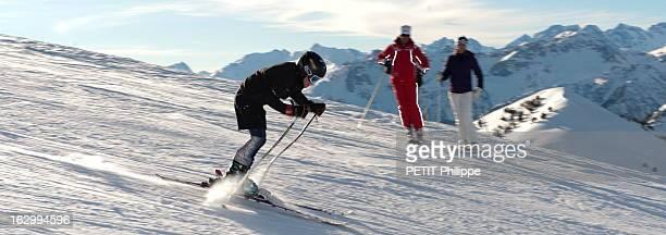 Discovery Of Montgenevre Winter Sports Resort With Nathalie Simon Janvier 2011 A la découverte de la station de ski de Montgenèvre avec l'animatrice...