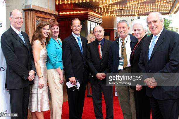 Discovery's Don Baer Festival Director Patricia Finneran NPR's Liane Hanson Variety's Charlie Koones Peter Bart Director Bill Couturiz AFI CEO Jean...