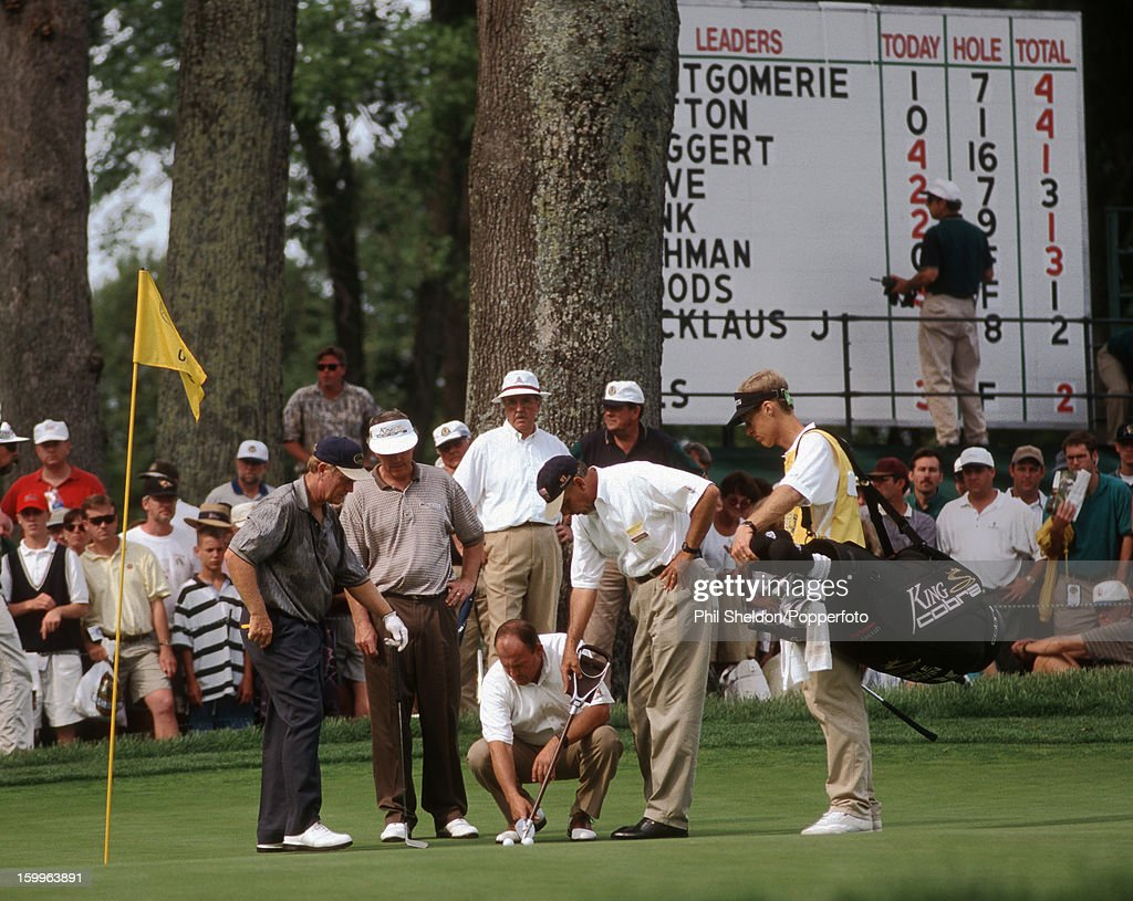 Jack Nicklaus And Hale Irwin - US Open : News Photo