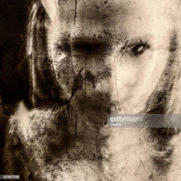 disfigured - ghost stock pictures, royalty-free photos & images