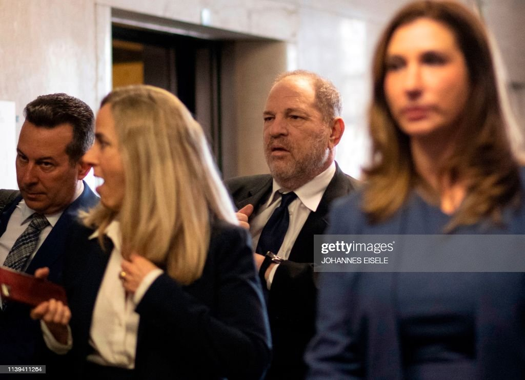 NY: Harvey Weinstein Attends Court Hearing On Rape Charges