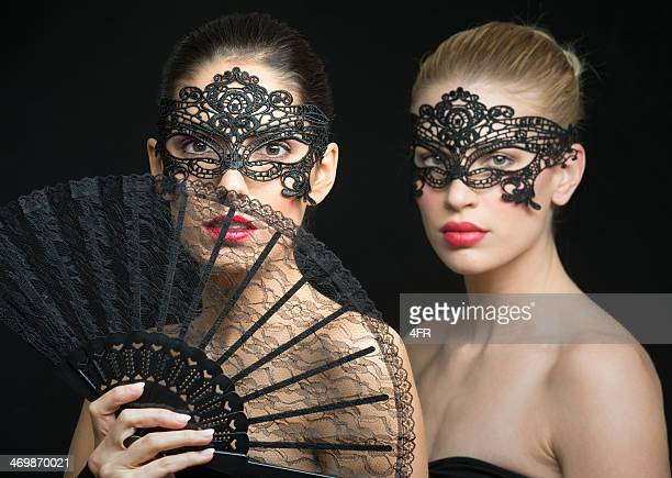 Disguised Beauties in Masquerade