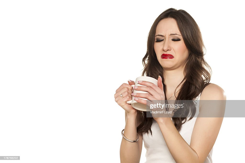 disgusting drink : Stock Photo