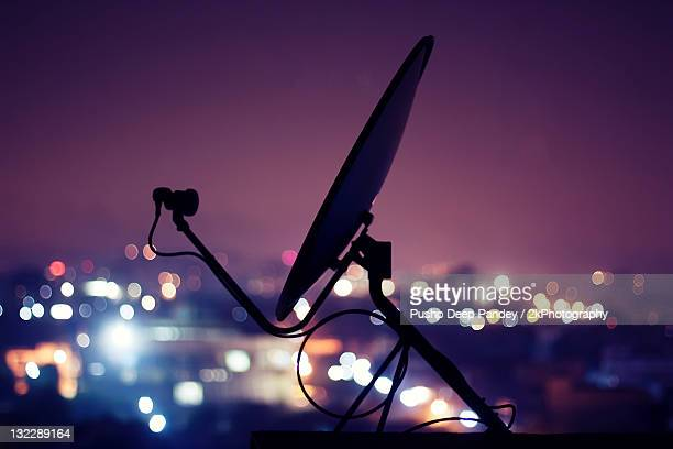 Dish antenna - power of technology