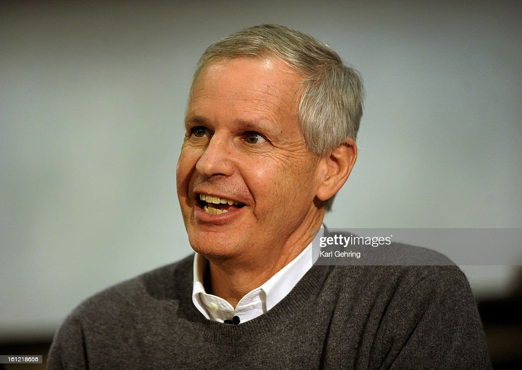 Dish Network Corporation Chairman Charlie Ergen responded to questions during an 'Entrepreneurs Unplugged' event at the University of ColoradoTuesday night, April 17, 2012. Karl Gehring/The Denver Post : News Photo