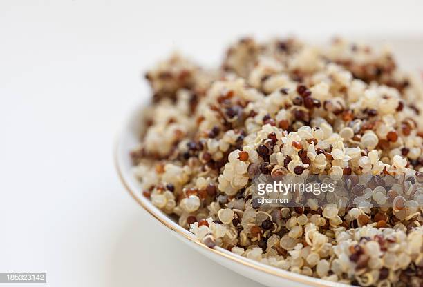 Dish of Cooked Quinoa, Starchy Staple, 3