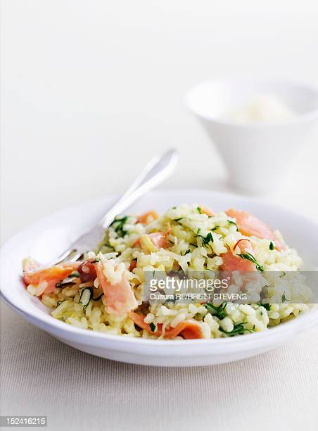 Dish of couscous with vegetables