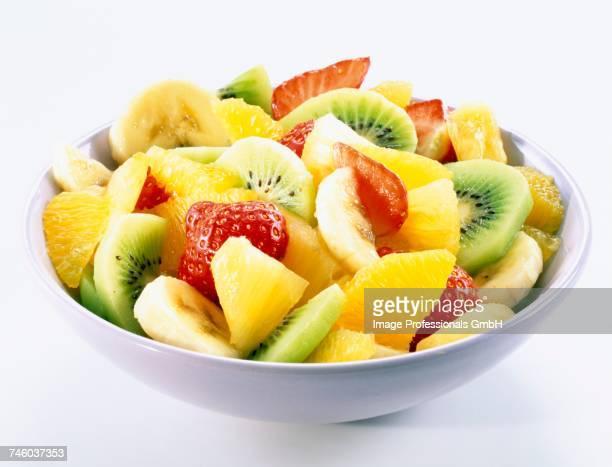 Dish of fruit salad