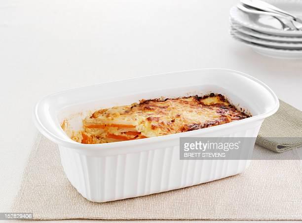 Dish of sweet potato bake