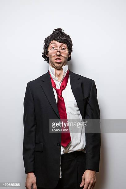 Disheveled and Tired Businessman