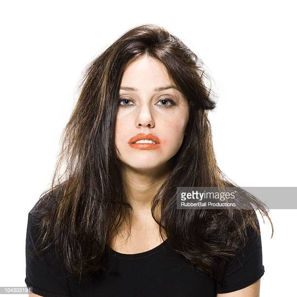disheveled woman - drunk woman stock pictures, royalty-free photos & images