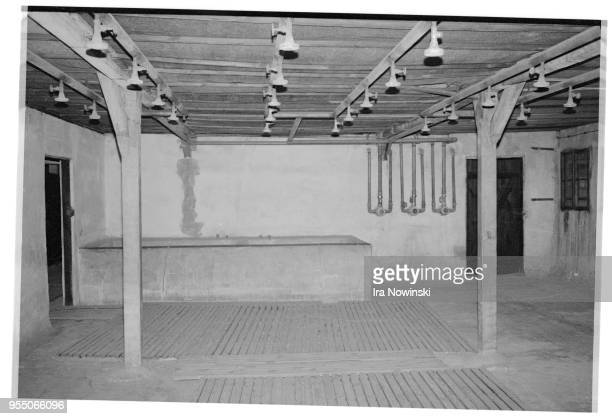 Disinfection room at concentration camp The disinfection room in the extermination block of Majdanek a Nazi concentration camp and extermination camp...
