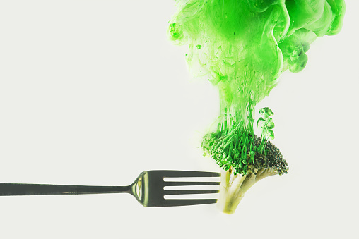 Disintegrated broccoli - gettyimageskorea