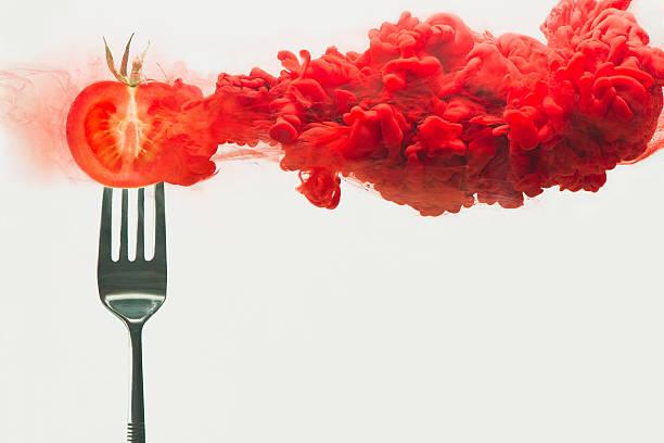 Disintegrated Tomato Wall Art
