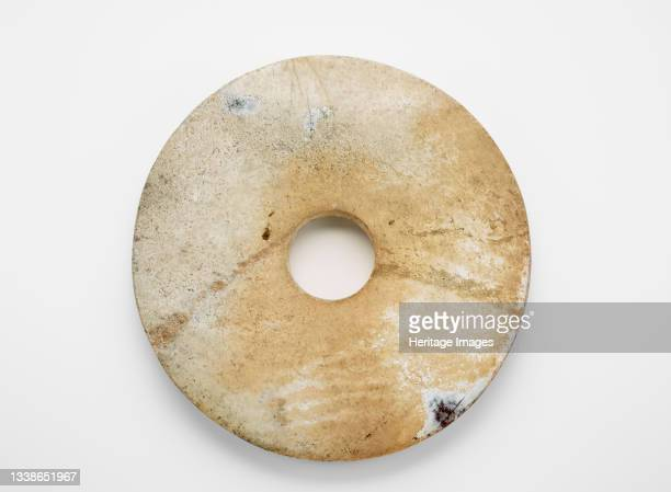 Disk , Late Neolithic period, circa 2000-1000 BCE. Artist Unknown.
