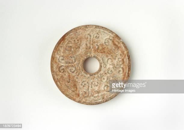 Disk , Western Han dynasty, 206 BCE-9 CE. Artist Unknown.