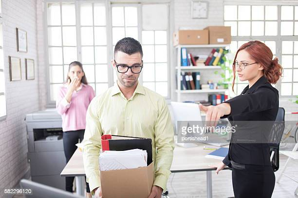 dismissal at work - dismissal stock photos and pictures
