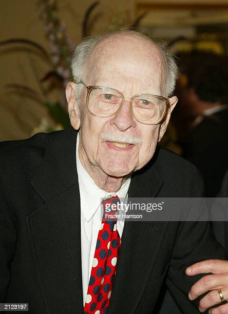 Disney animator Ollie Johnston attends the 30th Annual Vision Awards To Fight Blindness Gala at the Beverly Hilton Hotel on June 28 2003 in Beverly...