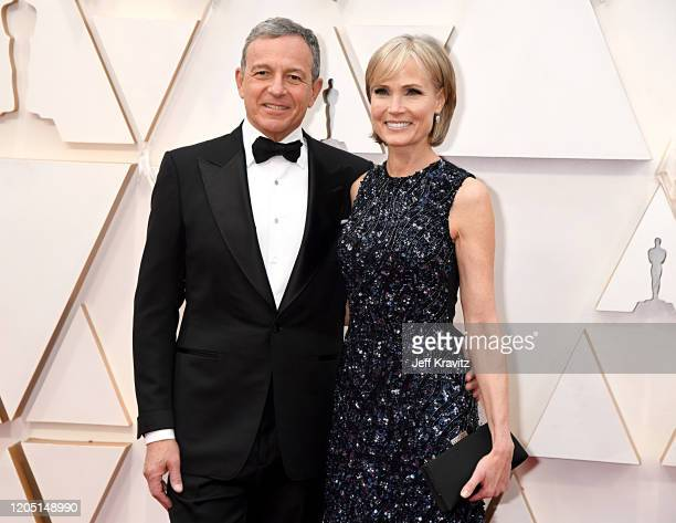 Disney CEO Bob Iger and Willow Bay attend the 92nd Annual Academy Awards at Hollywood and Highland on February 09 2020 in Hollywood California
