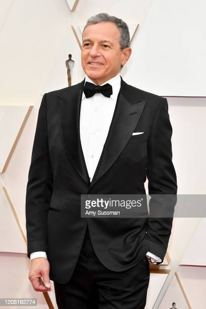 Disney CEO Bob Iger attends the 92nd Annual Academy Awards at Hollywood and Highland on February 09 2020 in Hollywood California