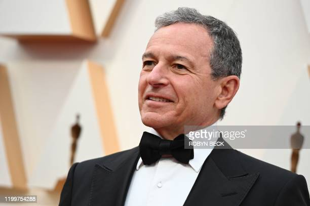 Disney CEO Robert Iger arrives for the 92nd Oscars at the Dolby Theatre in Hollywood California on February 9 2020