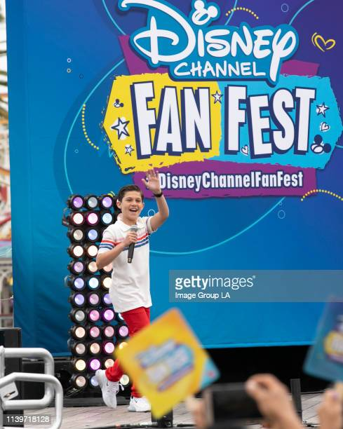 FEST Disney Channel Fan Fest a unique experience for kids families and more than 50 Disney Channel stars took place today at Disney California...