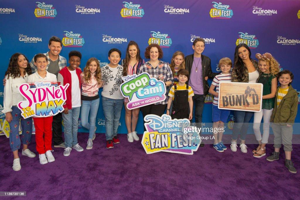 Disney Channel Fan Fest : News Photo