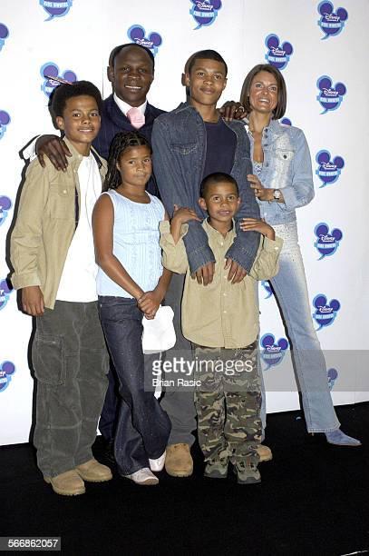 Disney Channel Kids Awards 2003 At The Royal Albert Hall London Britain 20 Sep 2003 Chris Eubank Karron And Family