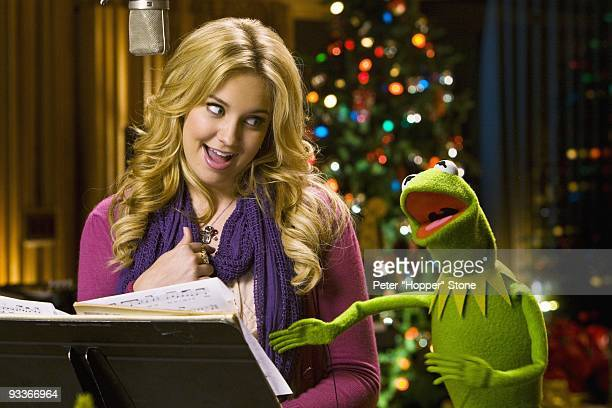 CHANNEL Disney Channel star Tiffany Thornton and Kermit the Frog perform a duet of the new holiday song I Believe The music video will premiere...