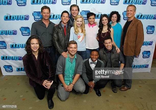 CLOUD 9 Disney Channel stars attend a Burbank screening of the Disney Channel Original Movie Cloud 9 premiering Friday January 17 BACK