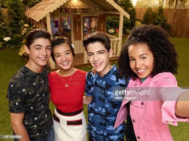 MACK Disney Channel's 'Andi Mack' stars Asher Angel as Jonah Beck Peyton Elizabeth Lee as Andi Mack Joshua Rush as Cyrus Goodman and Sofia Wylie as...