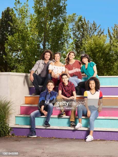 MACK Disney Channel's 'Andi Mack' stars Trent Garrett as Bowie Quinn Asher Angel as Jonah Beck Peyton Elizabeth Lee as Andi Mack Joshua Rush as Cyrus...